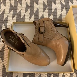 Cole Hann Nike air ankle booties